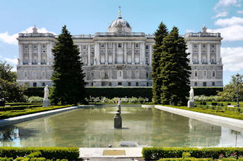 Le palais royal de Madrid