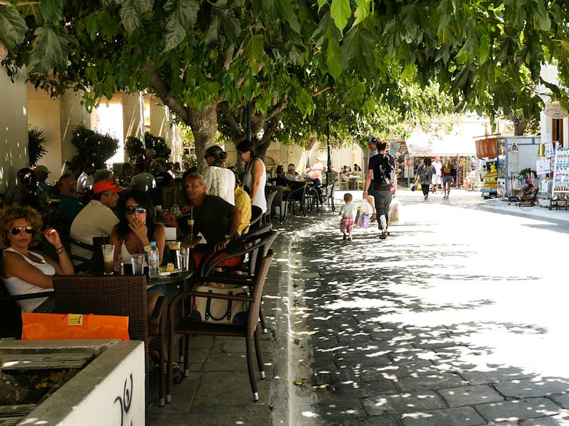 Chora Andros Terrasse Cafe 05