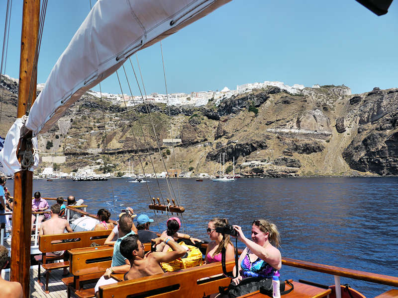 Santorin Excursion Bateau 14
