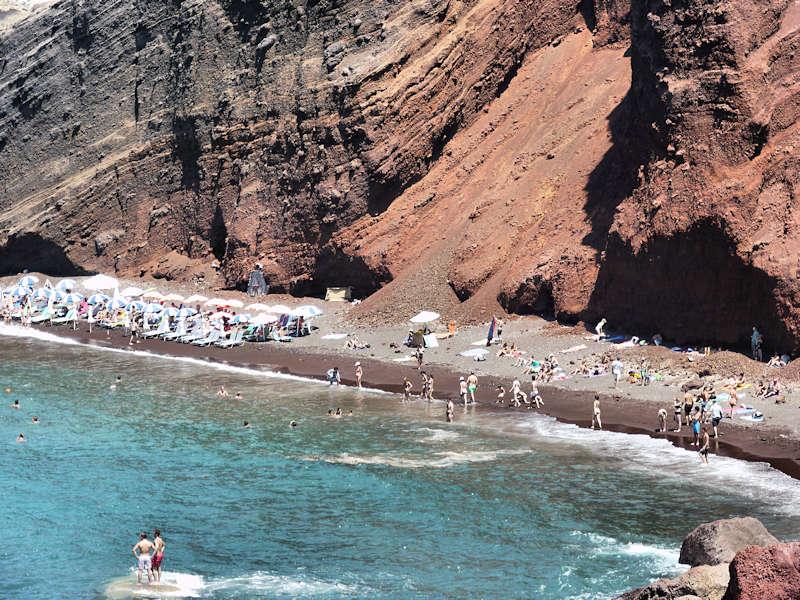 les plus belles plages santorin