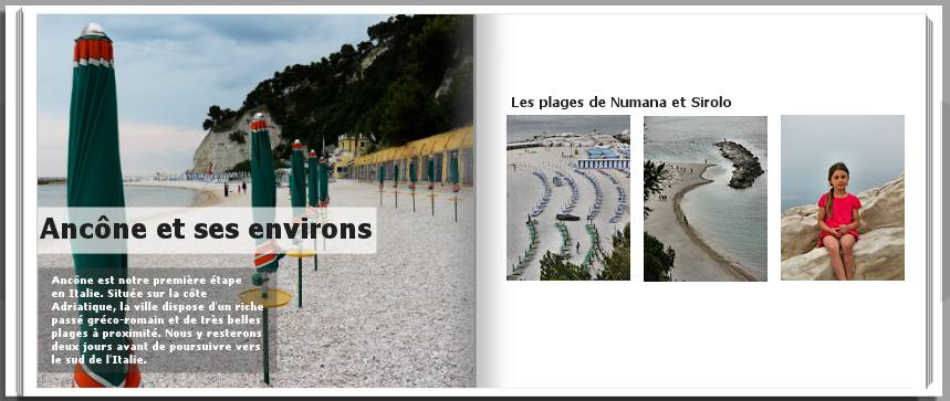 Livre Photo De Voyage Exemple Page Introduction