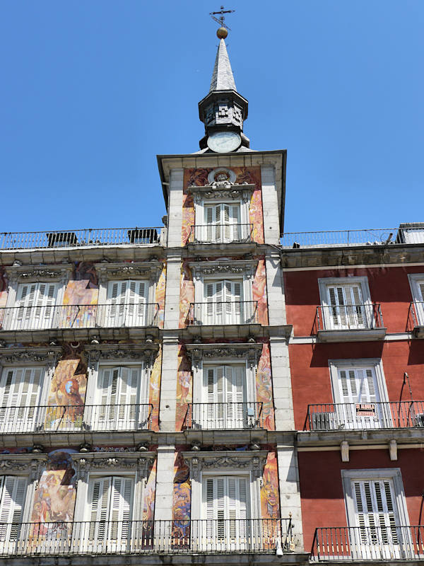 Madrid Plaza Mayor Facade