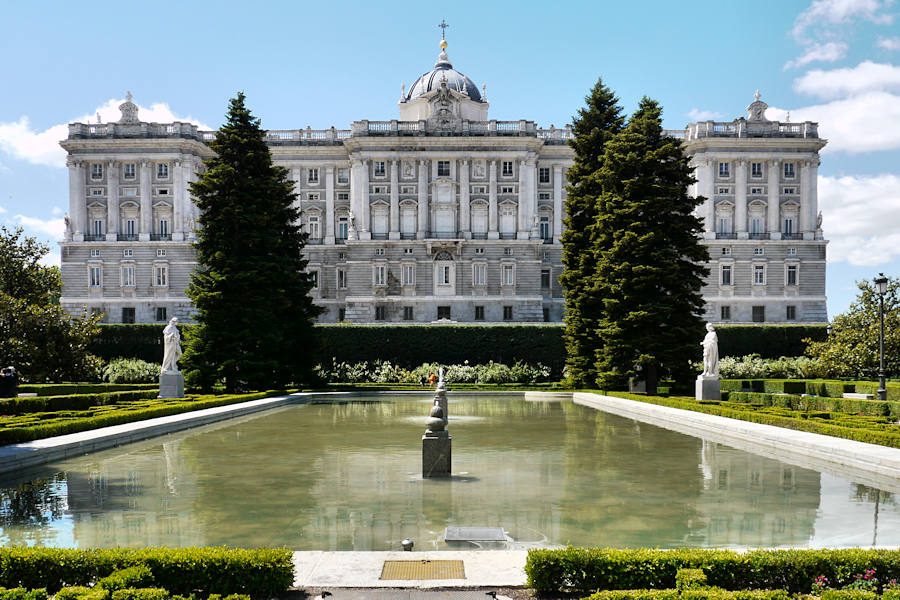 Madrid - Palais royal