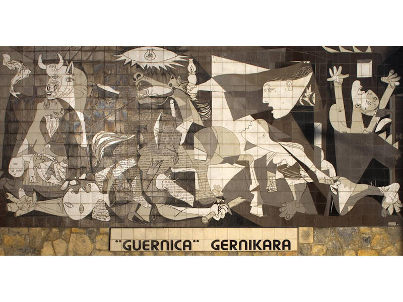 Reproduction Guernica Reina Sofia