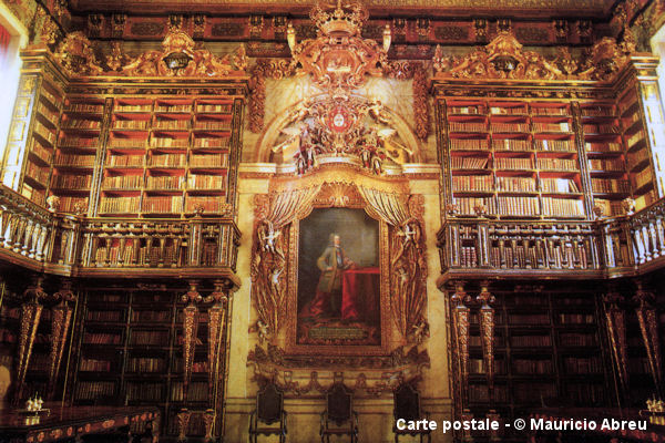 Bibliotheque Joanine Coimbra