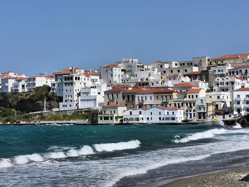 Chora Andros Plage 07