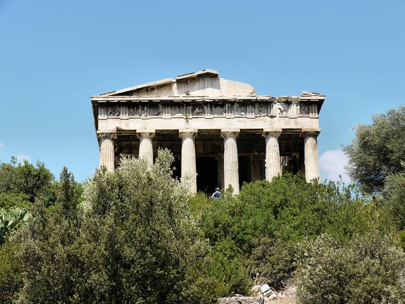 Temple Hephaistos Athenes 04